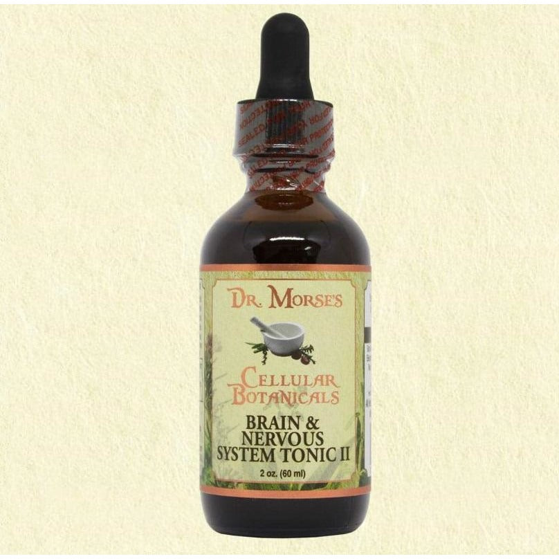 BRAIN & NERVOUS SYSTEM TONIC II  2oz