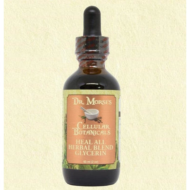 HEAL ALL HERBAL BLEND GLYCERIN 2oz