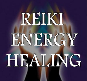 REIKI ENERGY HEALING Package Three 1 Hour Sessions