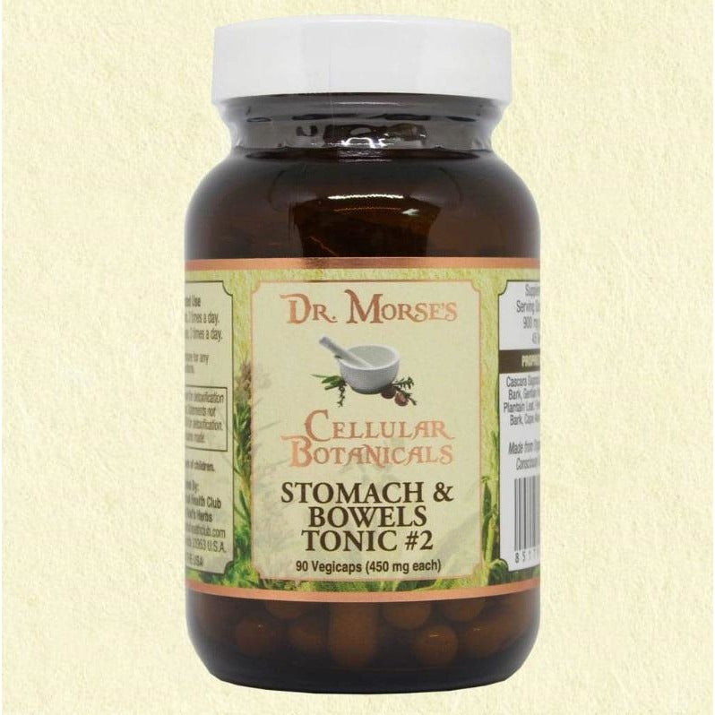 STOMACH & BOWEL TONIC #2 - GENTLE  90 Capsules
