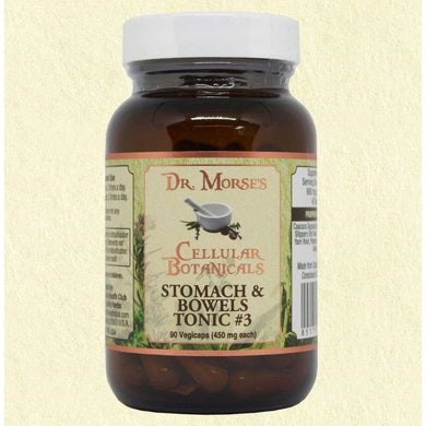 STOMACH & BOWEL TONIC #3 - MODERATE  90 Capsules