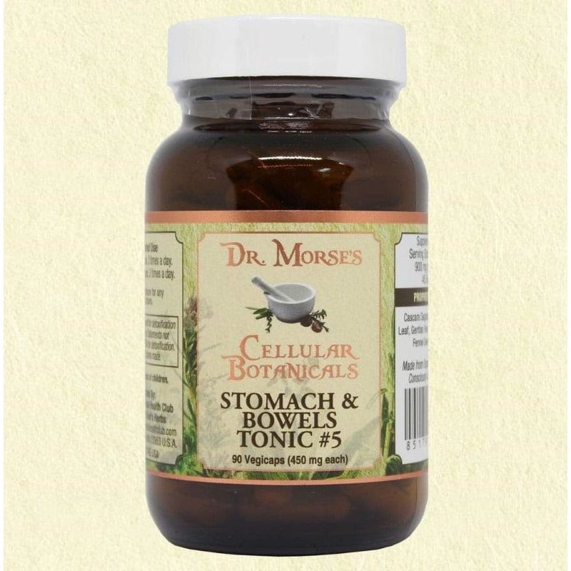 STOMACH & BOWEL TONIC #5 - MOVER  90 Capsules