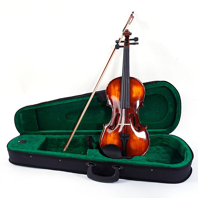 Classic Solid Wood Violin With Accessories