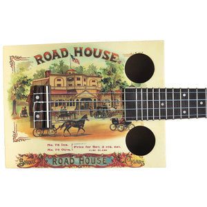 Road House Cigar Ukulele With Big Bag