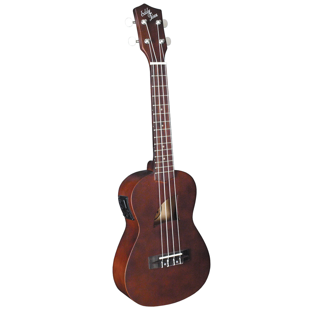 Basswood Concert Electric Ukulele With Aquila Strings