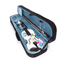 White Glitter Butterfly Dream Violin