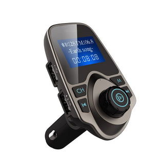 FM Transmitter Car Bluetooth MP3 Player With LCD Display