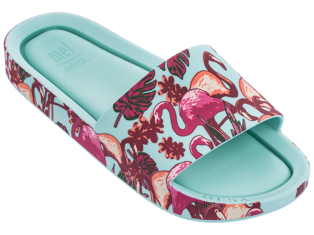 Flamingo - Turquoise - Mel Beach Slide