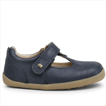 Louise T-Bar - Navy -  Bobux SU