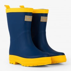 Navy & Yellow Rainboot - Hatley