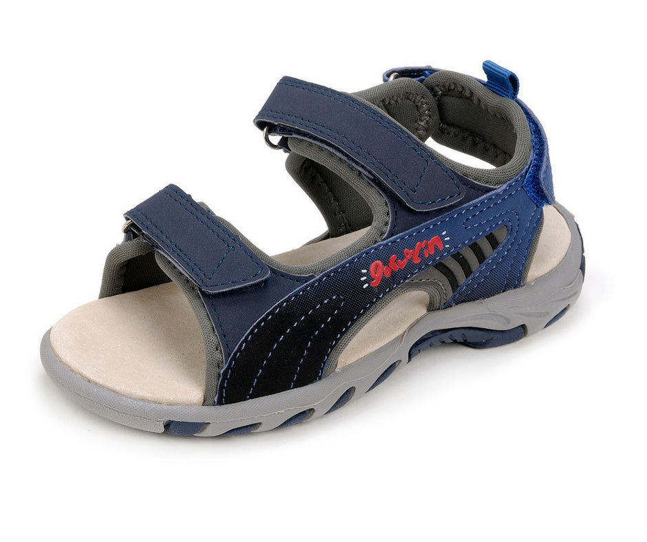 Navy Boys Sandal - Garvalin