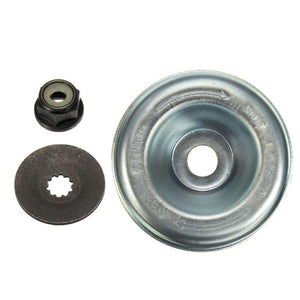Additional parts: Lock Nut, Flat Washer, Cup Washer (required for Stihl trimmers)