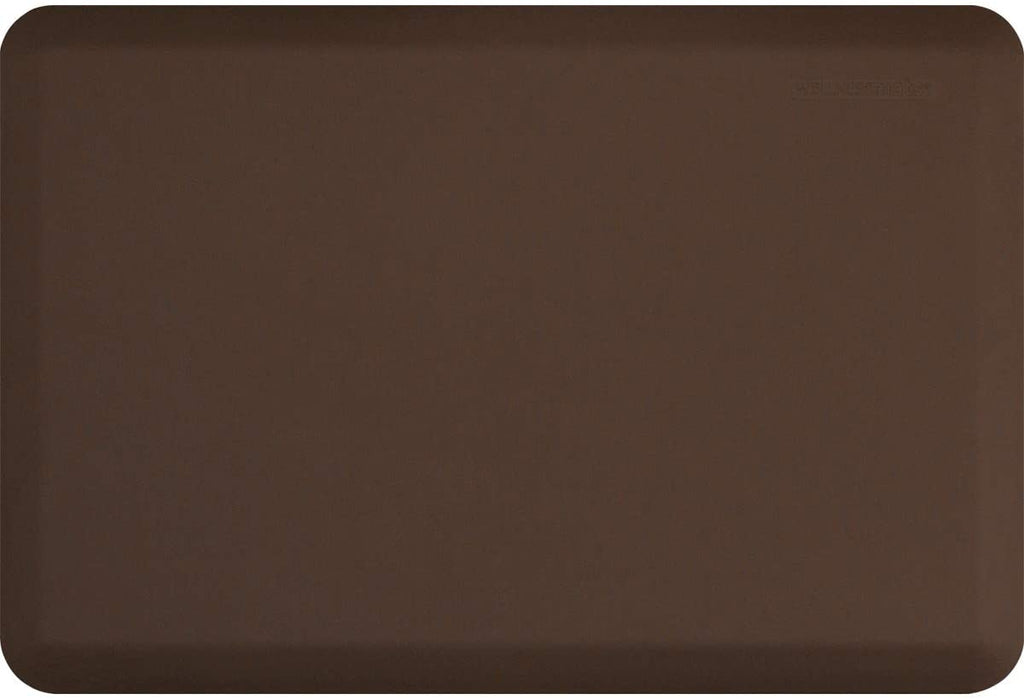 "WellnessMats Original 3/4"" Anti-Fatigue Mat - Comfort & Support - Non-Slip, Non-Toxic - 24""x36""x3/4"" Brown"