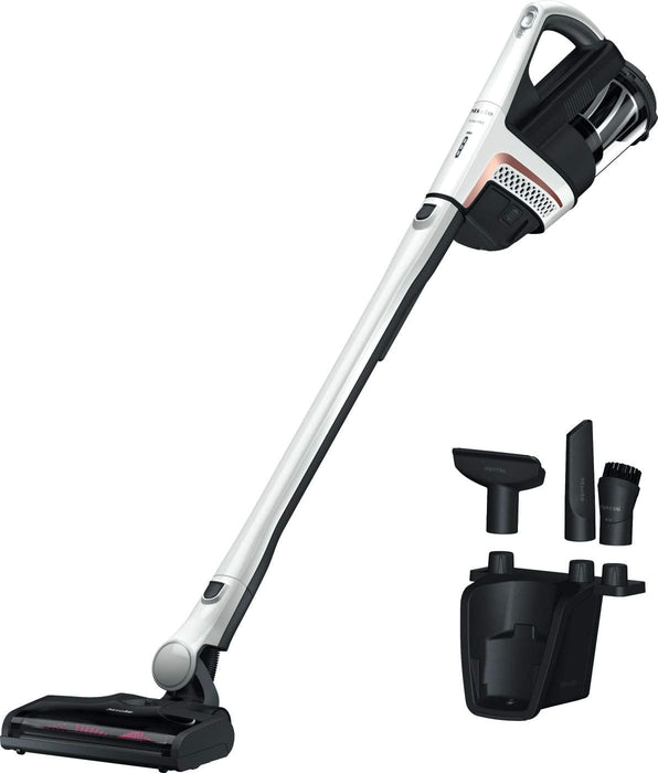 Miele Triflex HX1 Brilliant Battery Powered Bagless Stick Vacuum, Lotus White, 4 Pounds