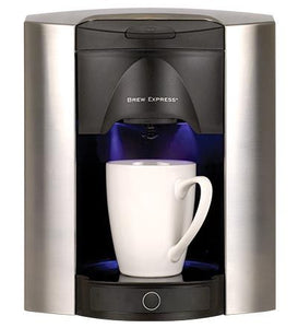 Brew Express Built-In 4 Cup, Satin Chrome Model: BE-104C