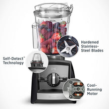 Vitamix Ascent A2500 Blender, Black