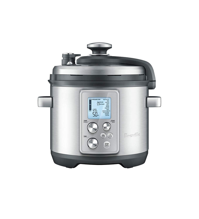 Breville BPR700BSS The Fast Slow Pro, 6 Quart, Silver
