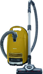 Miele Complete C3 Calima Canister Vacuum-Corded, Curry Yellow