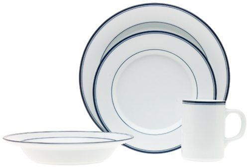 Dansk Concerto Allegro Blue 4-Piece Place Setting, Service for 1