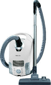 Miele Compact C1 Pure Suction Canister Vacuum,Lotus White