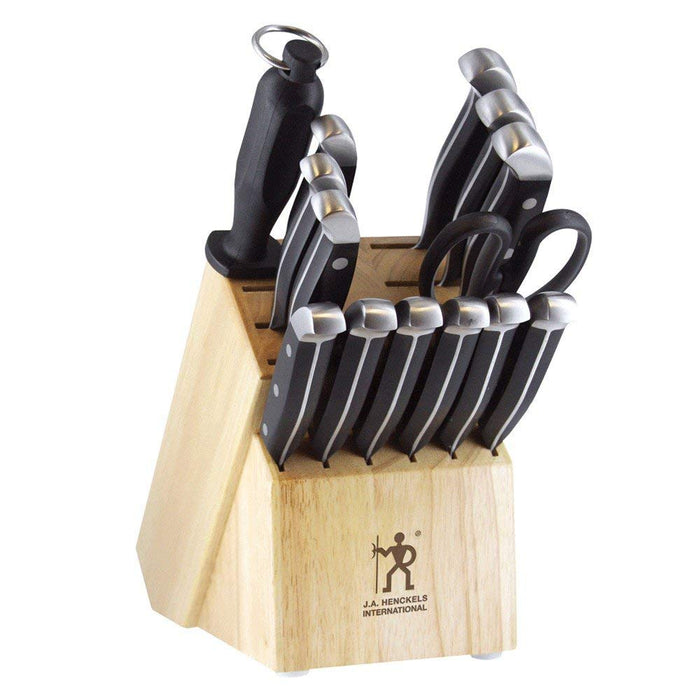 J.A. Henckels International 13550-005 Statement Knife Block Set, 15-pc
