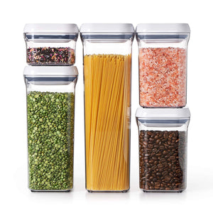 OXO Good Grips 5-Piece Airtight Food Storage POP Container Value Set