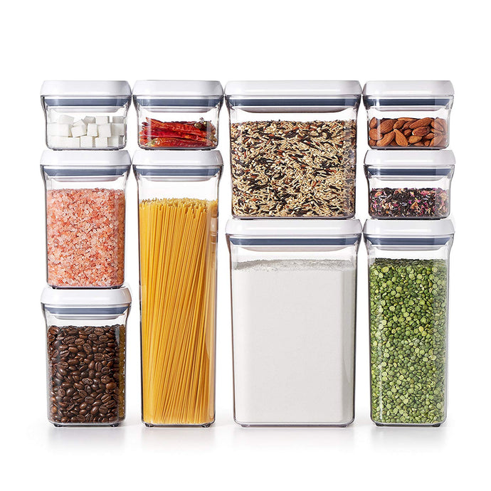 OXO Good Grips 10-Piece Airtight Food Storage POP Container Value Set