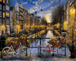 Amsterdam Nights - Paint By Numbers Kit