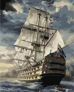 Sailing Ship - Paint By Numbers Kit