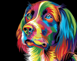 Magical Pup - Paint By Numbers Kit