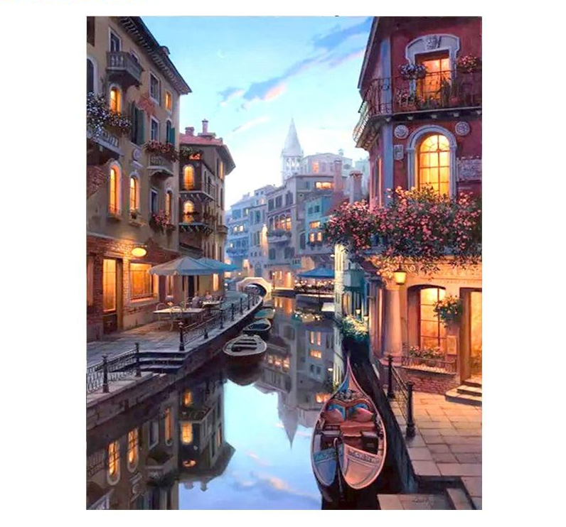 Lovely Venice - Paint By Numbers Kit