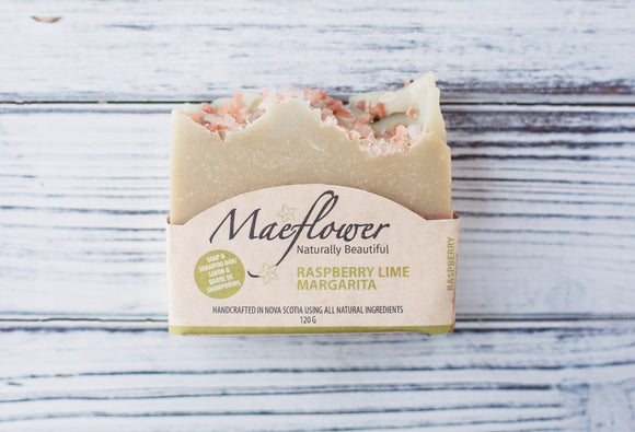 Raspberry Lime Margarita Soap Bar