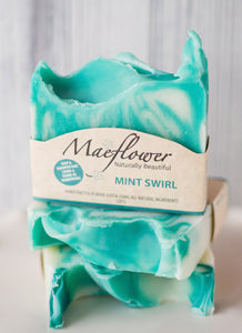 Mint Swirl Soap Shampoo Bar
