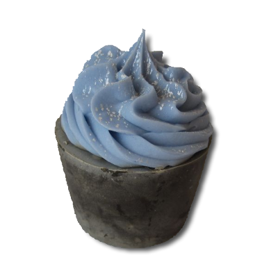 vanilla mint cupcake soap