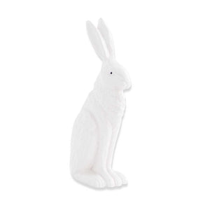 Porcelain Rabbit Sitting w/Ears Up