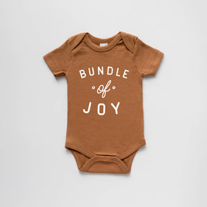 Camel Organic Bundle Of Joy Baby long sleeve Bodysuit