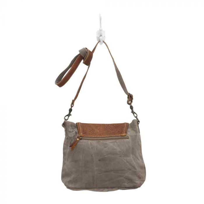 FLAP-OVER SHOULDER BAG