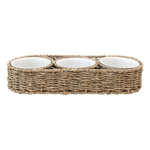 Seagrass Dip Bowl Set