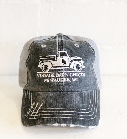 Barn Chicks Truck Logo Hat
