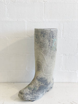 Clay Distressed Patina Garden Boot