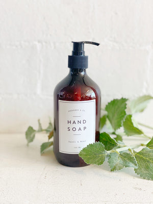 Basil & Mint Hand Soap