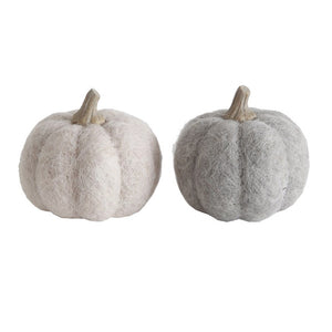Medium Wool Pumpkin