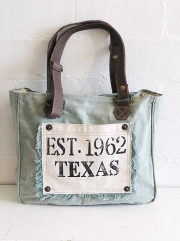 MyraBag Aqua Texas Hand Bag