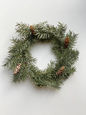 Frosted Douglass Pine Wreath