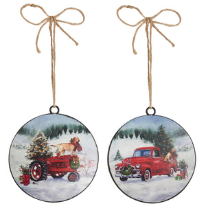 Truck or Tractor Ornament