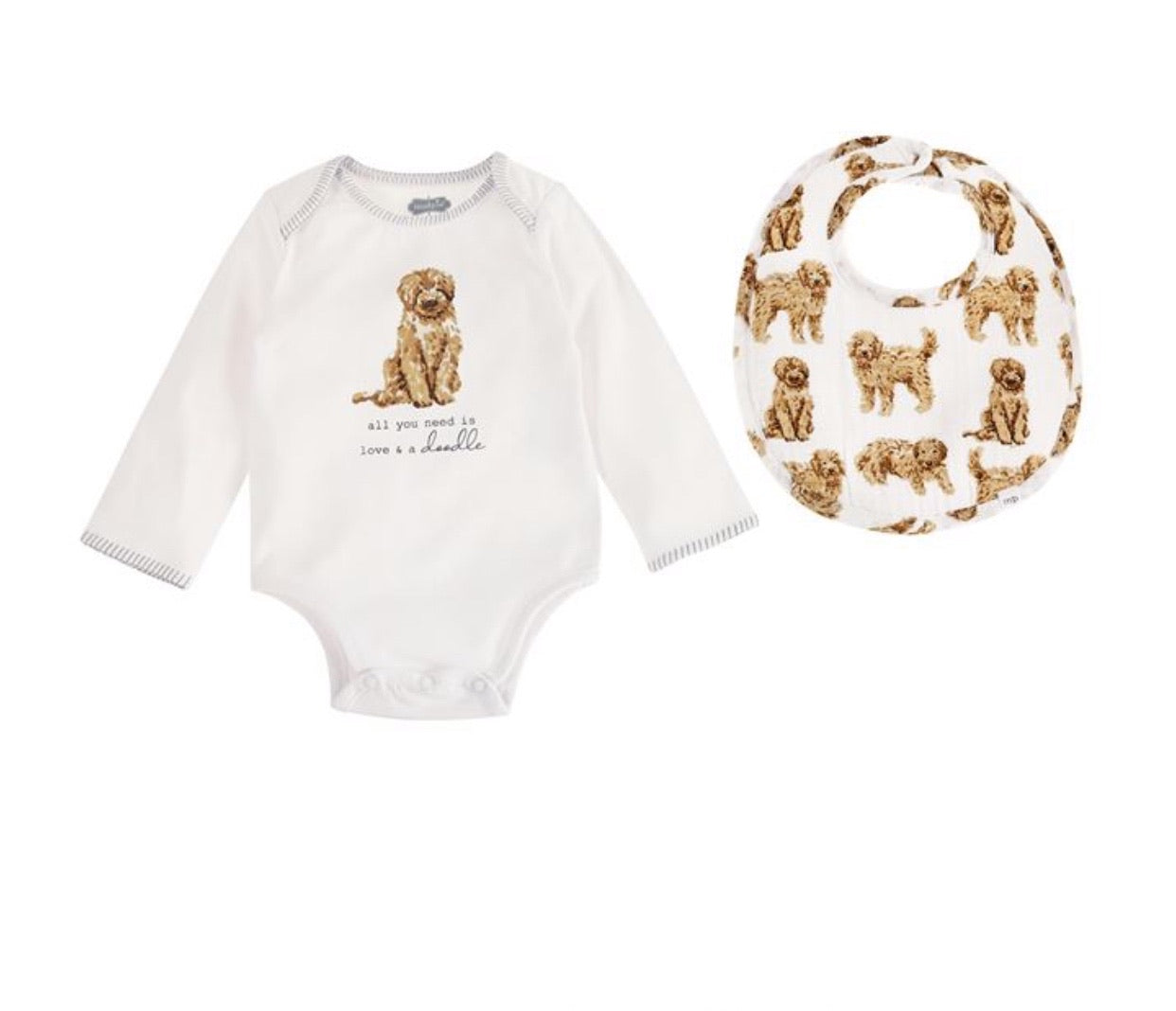 Baby Onesie and Bib Set
