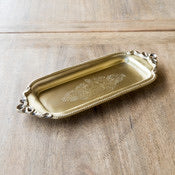 Antique Brass Tip Tray