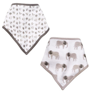 Elephant bib set