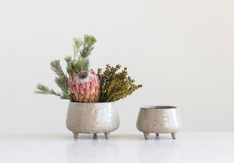 Footed Planters or Bowls