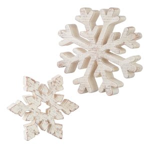 Distressed snowflake
